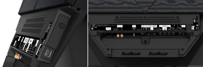 Sony AF9 интерфейсы