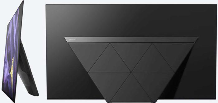 Sony AF9 задняя панель и вид сбоку