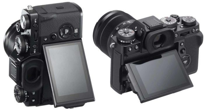 Фотокамера Fujifilm X-T3 дисплей