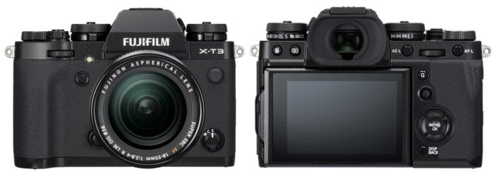 Фотокамера Fujifilm X-T3 обзор