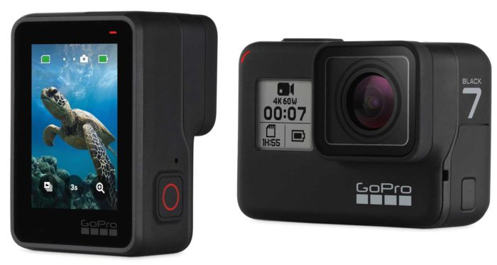 Камера GoPro Hero 7 Black дизайн