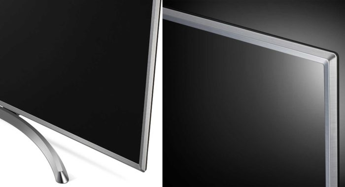 LG UK6550 дизайн