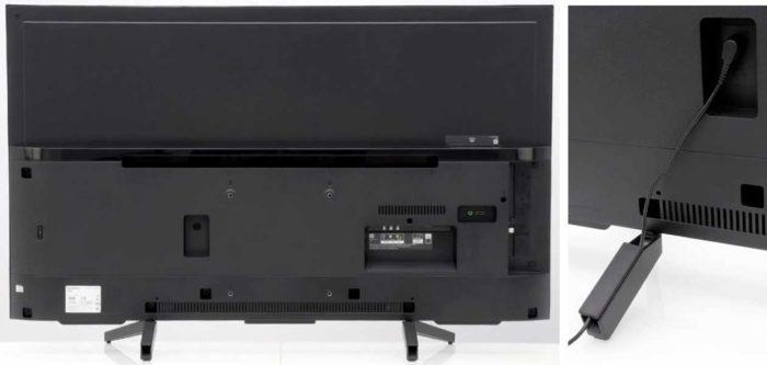 Sony XF7077 задняя панель