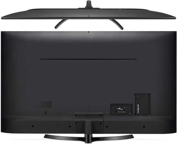 LG UK6400 тыловая панель