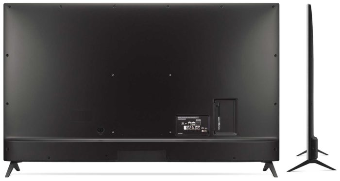 LG UK6500 задняя панель