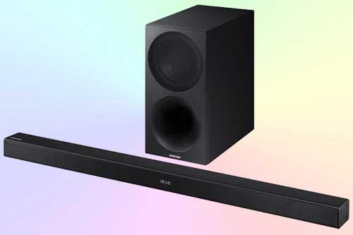 Samsung HW-M450 - звуковая панель с качественными НЧ