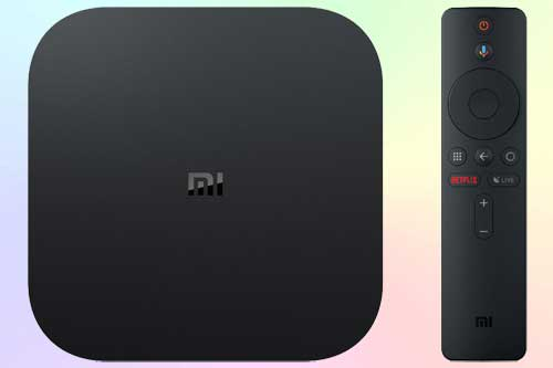 Xiaomi Mi Box S - медиаплеер 4К HDR