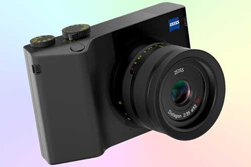 Zeiss ZX1 компактный полнокадровый фотоаппарат 4K