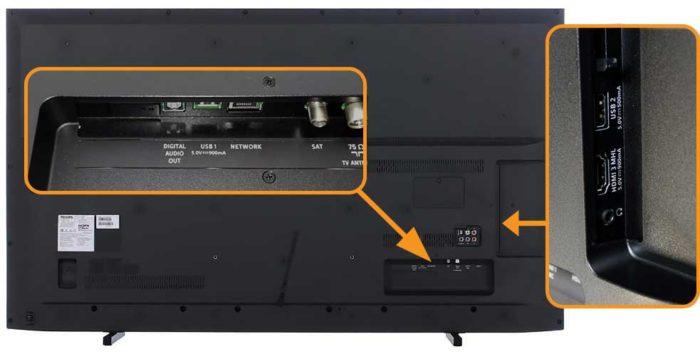 Philips PUS6203 интерфейсы