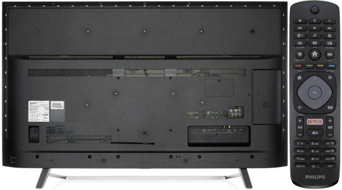 Philips PUS6803 задняя панель и ДУ