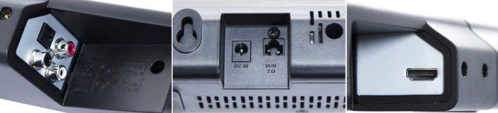Philips HTL2183B интерфейсы