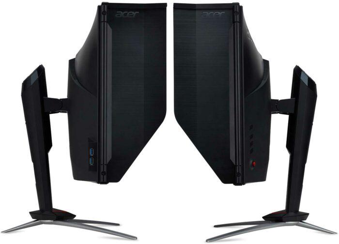 Acer Nitro XV273K управление и разъемы