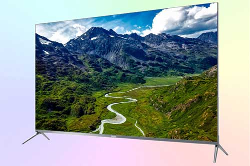 Haier LE55X7000U 4K HDR TV на квантовых точках