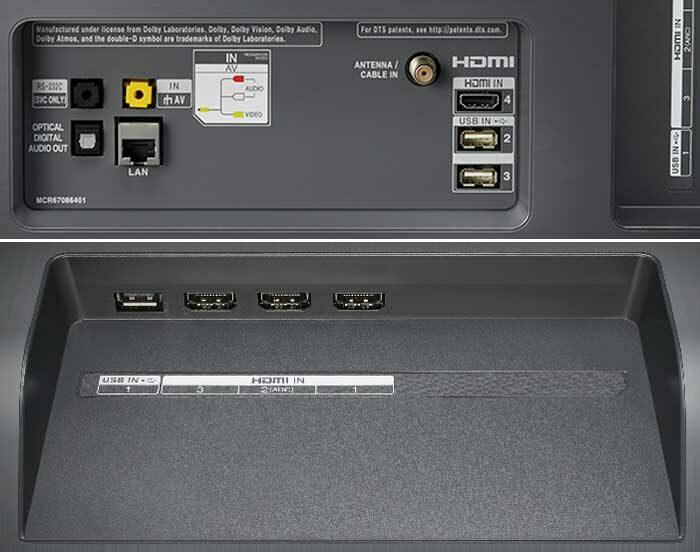 LG OLED65C9 интерфейсы