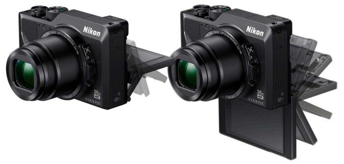 Nikon Coolpix A1000 эргономика