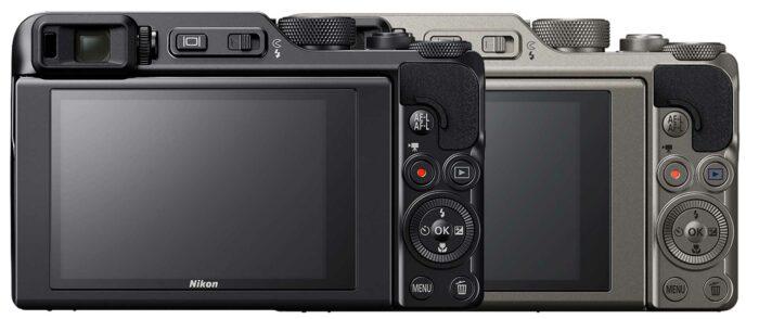 Nikon Coolpix A1000 экран и датчик