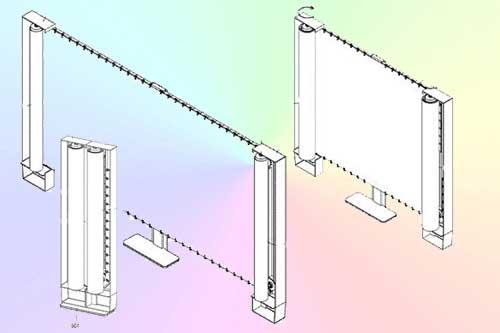 Samsung запатентовал телевизоры с гибким дисплеем