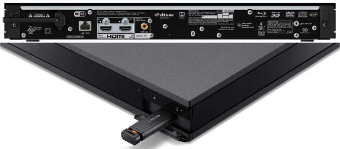 Sony UBP-X800M2 интерфейсы