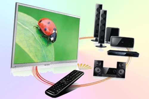 Как обычным пультом ДУ телевизора управлять различными устройствами