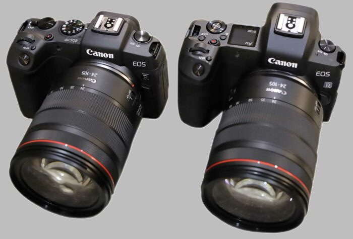 Фотоаппарат Canon EOS RP сравнение