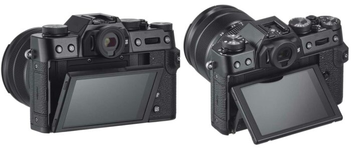 Fujifilm X-T30 дисплей