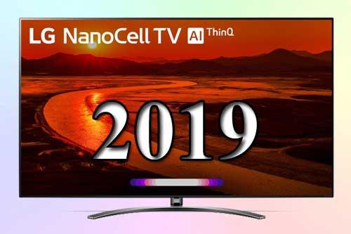 LG NanoCell 4K 2019 модельный ряд