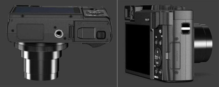 Panasonic Lumix DC-TZ95 интерфейсы