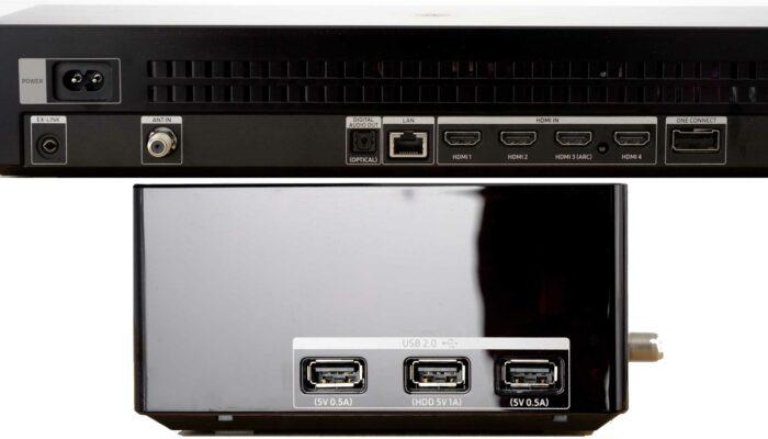 Samsung QE65Q90R интерфейсы