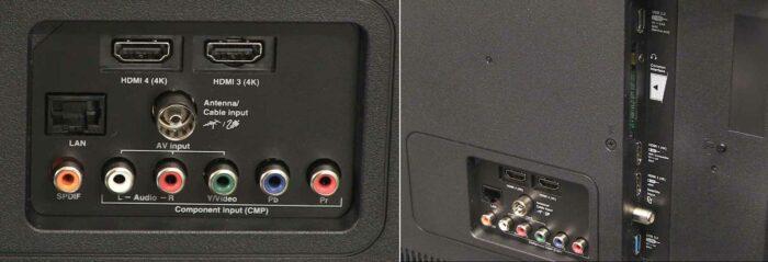 TCL U55P6046 интерфейсы