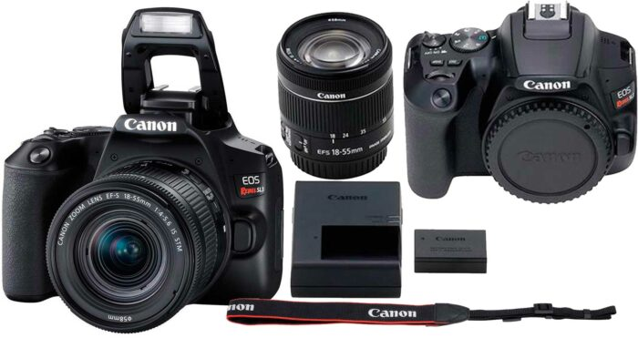 Canon EOS 250D комплектация
