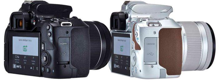 Canon EOS 250D интерфейсы