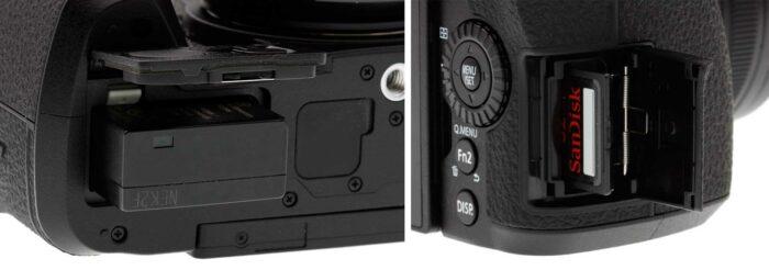 Panasonic Lumix DC-G90 интерфейсы