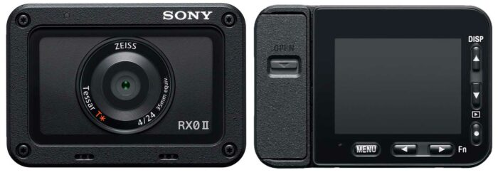 Sony RX0 II дисплей