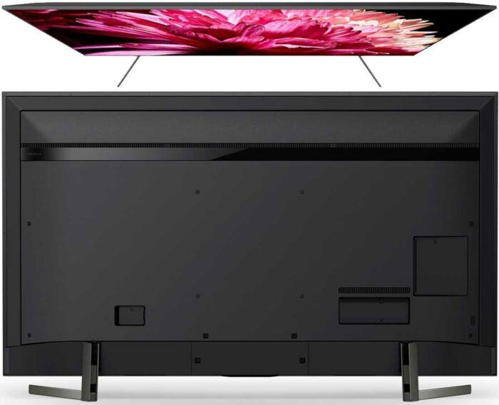 Sony XG9505 задняя панель