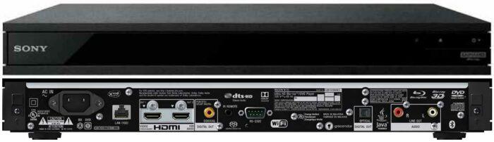 Sony UBP-X1100ES интерфейсы