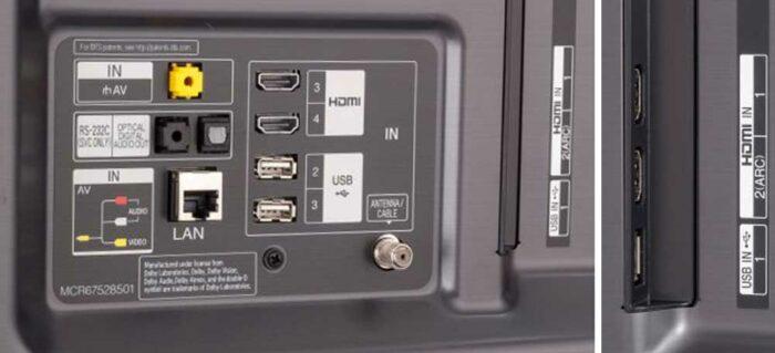 LG SM8500 интерфейс
