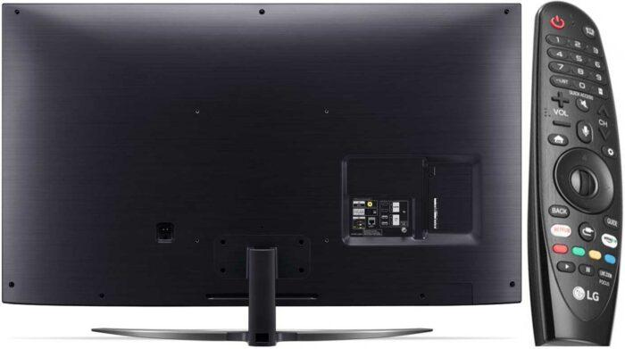 LG SM8600 дизайн, пульт