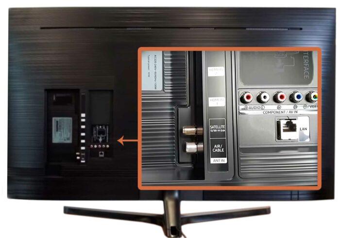 Samsung RU7400U интерфейсы