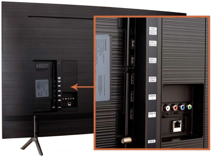 Samsung UE55RU7300U интерфейсы