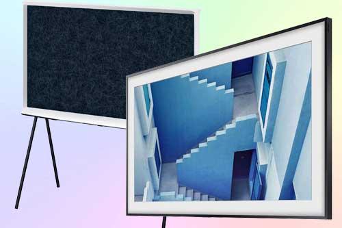 Телевизоры Frame и Serif от Samsung TV 2019