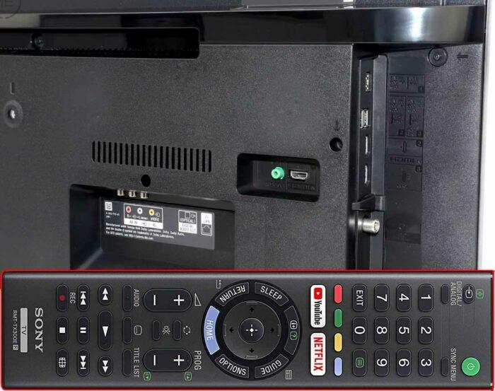 Sony KD-55XG7005 интерфейсы