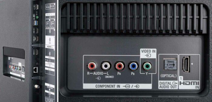 Sony XG8505 интерфейсы