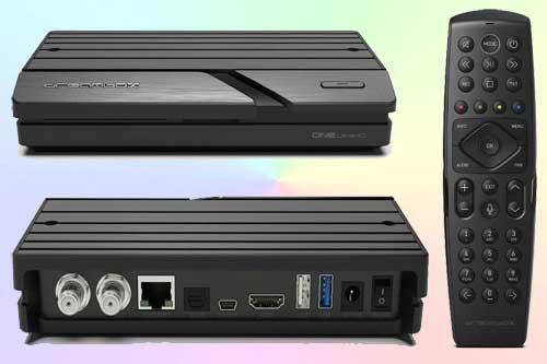 Dreambox One Ultra HD HDR - быстрый спутниковый ресивер