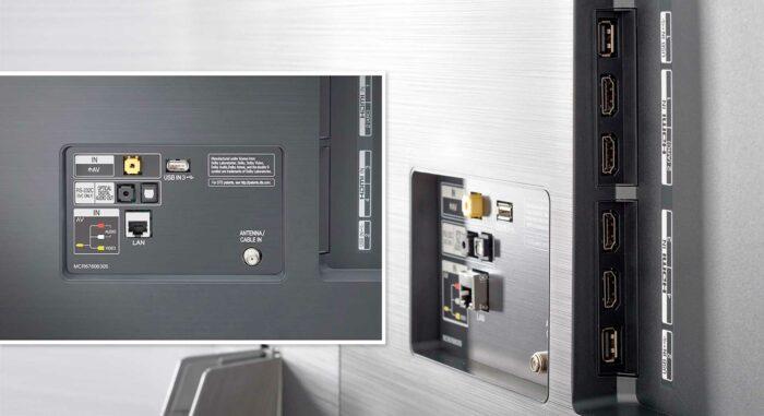 LG SM9800 интерфейсы