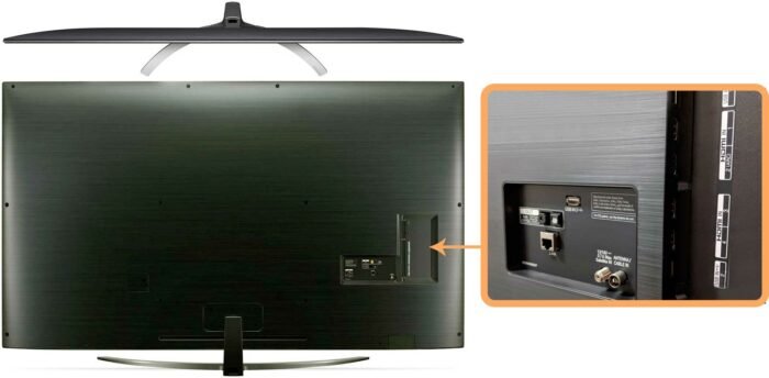 LG 65SM9010 интерфейсы