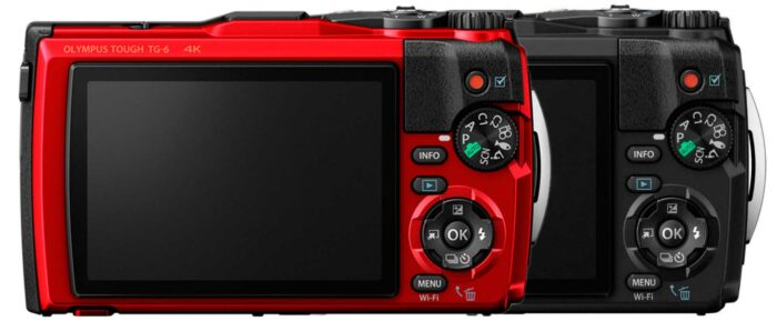 Olympus Tough TG-6 дисплей