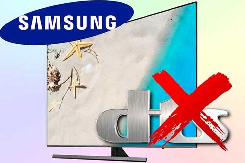В телевизорах Samsung поддержка DTS отсутствует. Что делать?