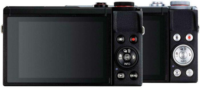 Canon PowerShot G7 X Mark III экран