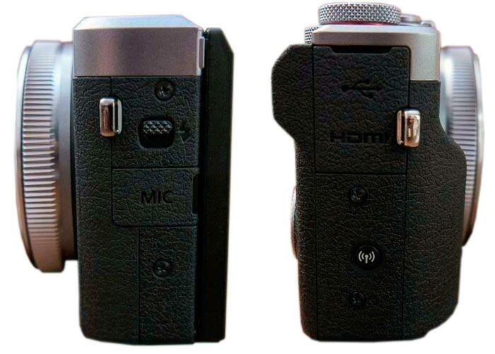 Canon PowerShot G7 X Mark III интерфейсы