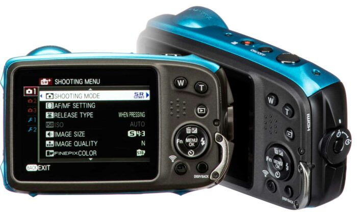 Fujifilm XP140 экран